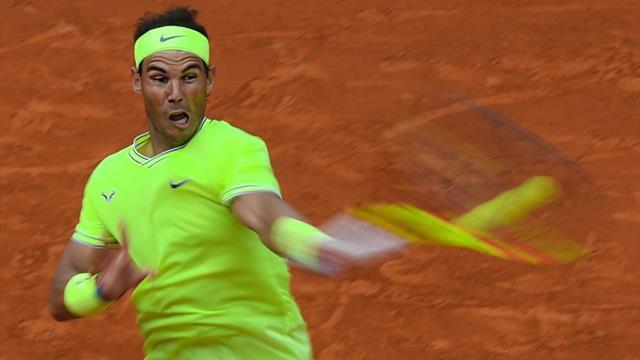 De todas las formas y colores: los mejores puntos de Nadal ante cada rival de Roland-Garros