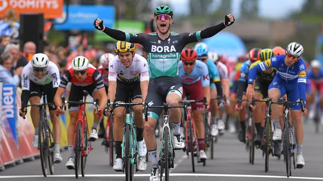Bennett sprints to victory in Stage 3 of Dauphine