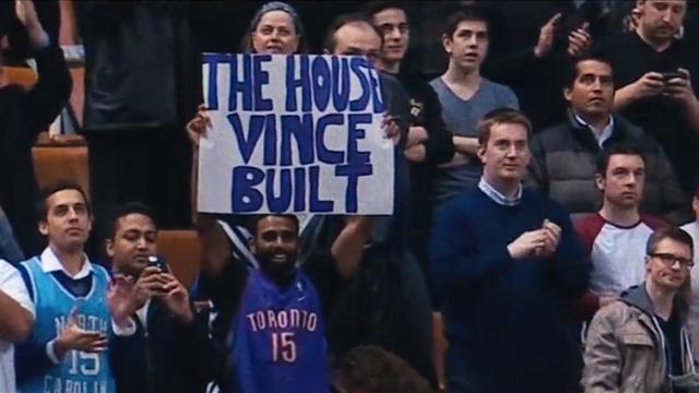 """Toronto Raptors: """"Vince'in evi"""""""