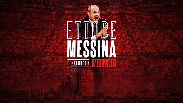 Olimpia Milano, Ettore Messina è il nuovo coach: 3 anni per l'ex ct