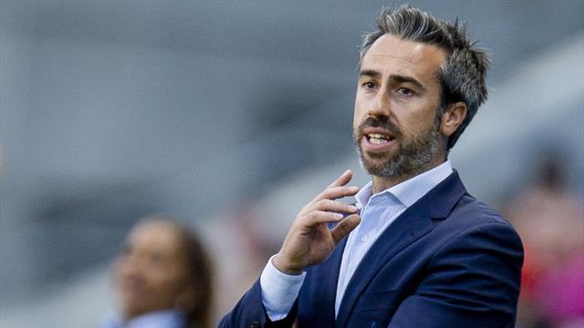 """Jorge Vilda, ante el desafío de ganar a Alemania: """"Hemos venido aquí a hacer historia"""""""
