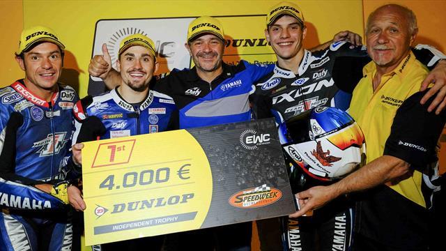 Moto Ain win EWC Dunlop Independent Trophy