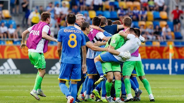 Украина победила Италию и вышла в финал молодежного ЧМ
