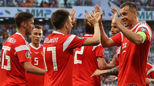 Россия стала 43-й в новом рейтинге ФИФА, Украина – 24-я
