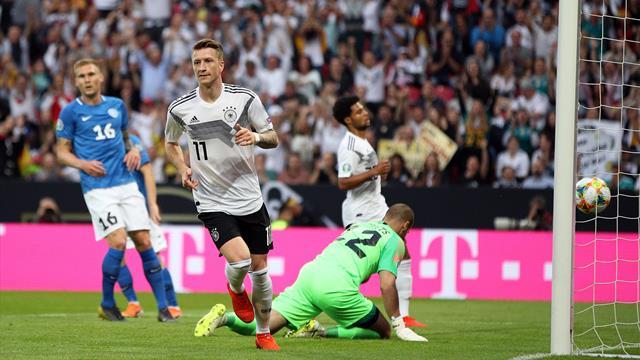 L'Allemagne s'offre un grand huit, Verratti délivre l'Italie