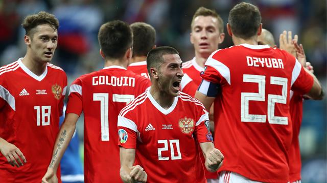 Россия сенсационно и гипернеожиданно выиграла у Кипра