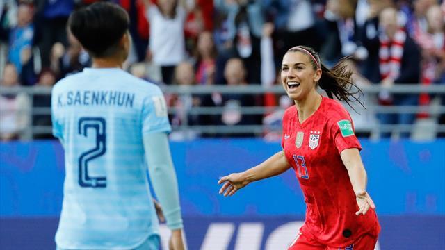 Kadınlar Dünya Kupası raporu: Altıncı gün