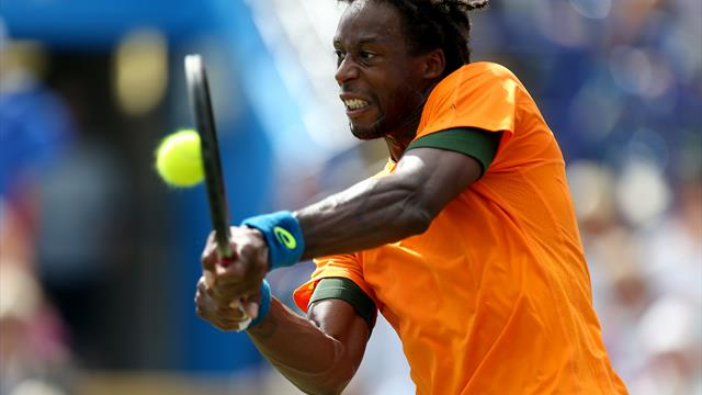 Gael Monfils edges into Mercedes Open second round