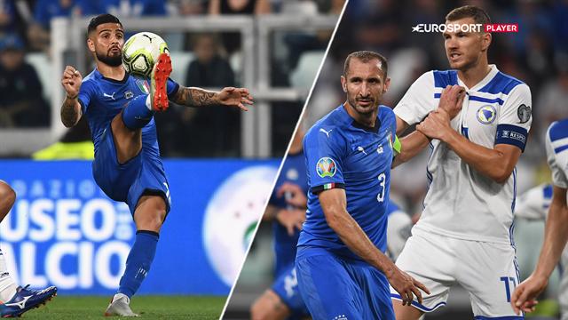 Highlights: Elegante Insigne sikrede Italien vigtig sejr over imponerende Bosnien