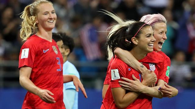 Sublime USA demolish Thailand 13-0 on historic night in Women's World Cup