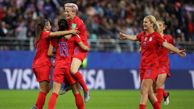 13:0! US-Girls feiern WM-Rekordsieg