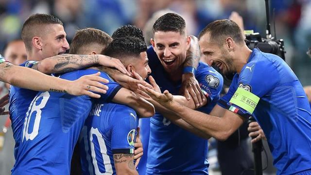 2-1. Italia remonta a Bosnia y marcha con paso firme hacia la Eurocopa