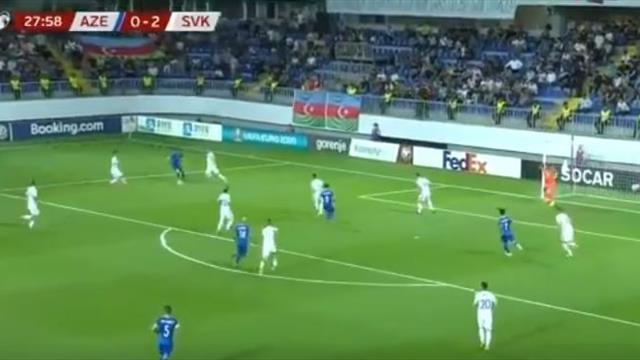 Экс-игрок «Зенита» и молодежной сборной России забил крутой мяч Словакии