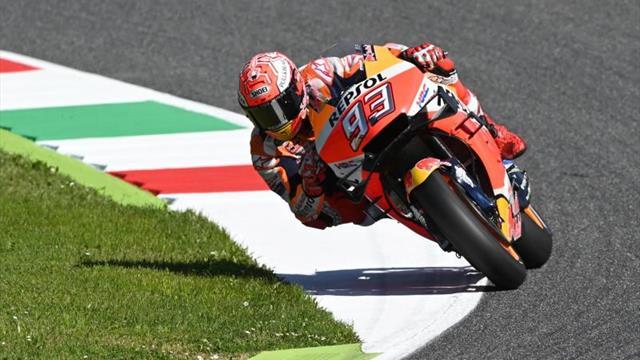 Márquez, el gran valor para frenar a las Ducati