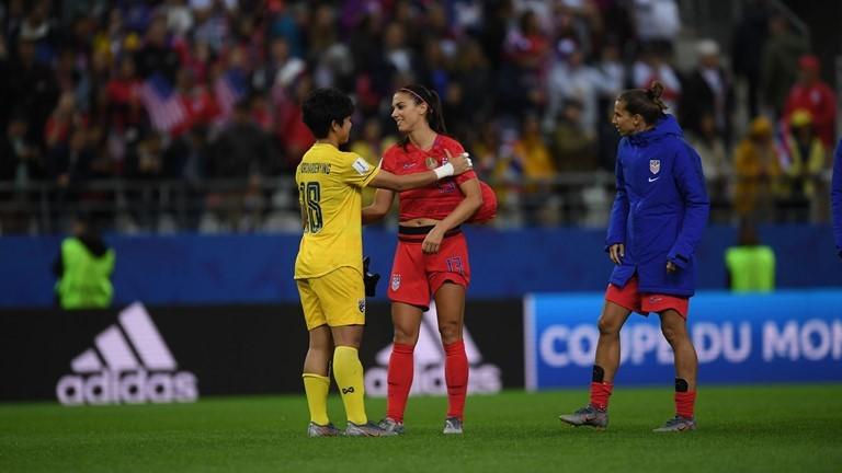 2019 Kadınlar Futbol Dünya Kupası, ABD-Tayland