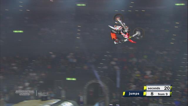 Night of the Jumps: Maikel Melero dominates
