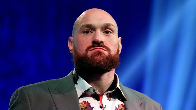 Tyson Fury claims Anthony Joshua is 'finished'