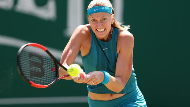 Defending champion Kvitova withdraws from Nature Valley Classic