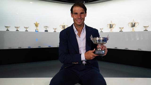El duodécimo trofeo de Roland-Garros de Nadal ya luce en su museo