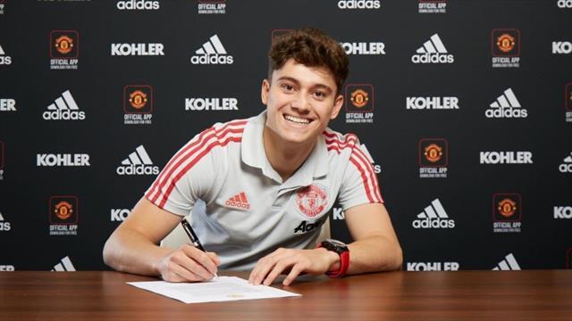 Man Utd confirm signing of James