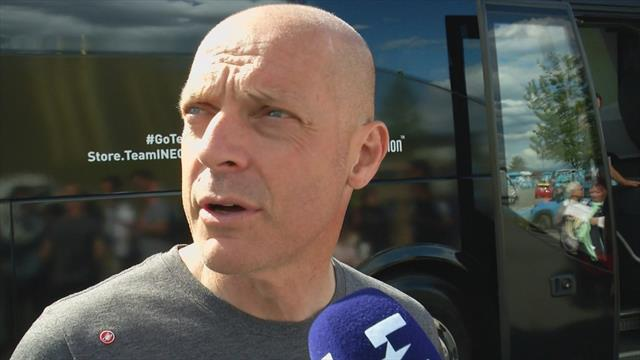 Team Ineos boss Dave Brailsford explains how Chris Froome crashed