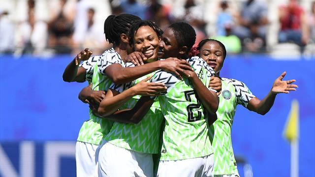Nigeria upset South Korea for rare World Cup win