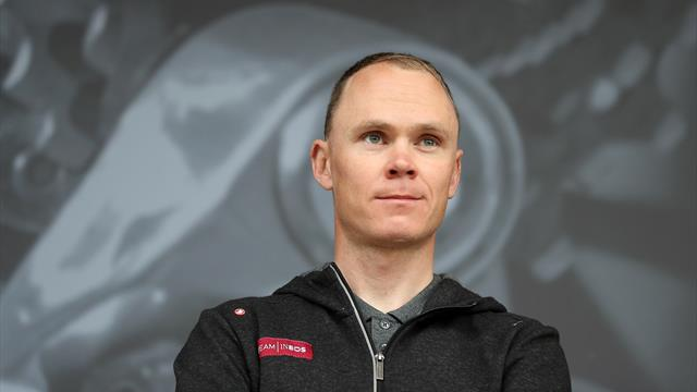 Froome to miss Tour with suspected fractured femur after crashing into a wall
