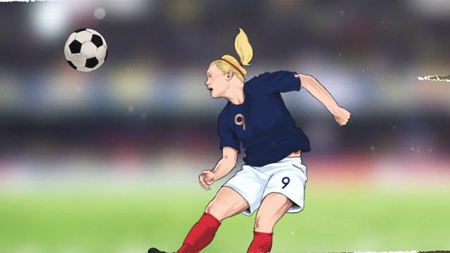 Déjà deux buts dans ce Mondial : Le Sommer, construction d'une championne