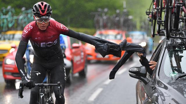 Tour de France'tan çekilen Chris Froome yoğun bakımda