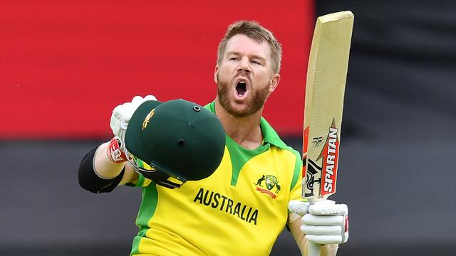 Warner hits century as Australia beat Pakistan