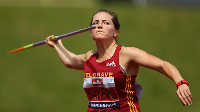 Sayers to be presented with Olympic bronze at Anniversary Games
