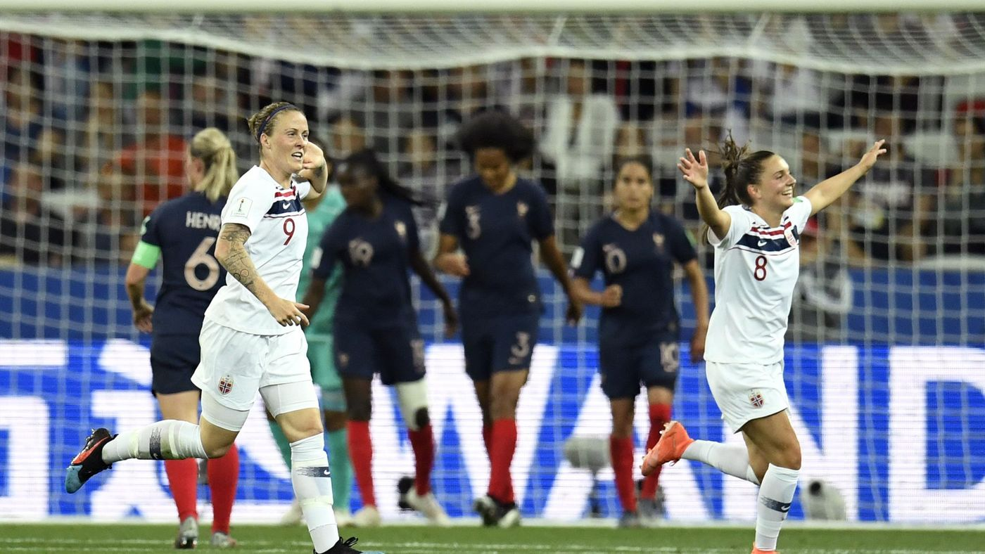 Wendie Renard's own goal had levelled the contest for Norway