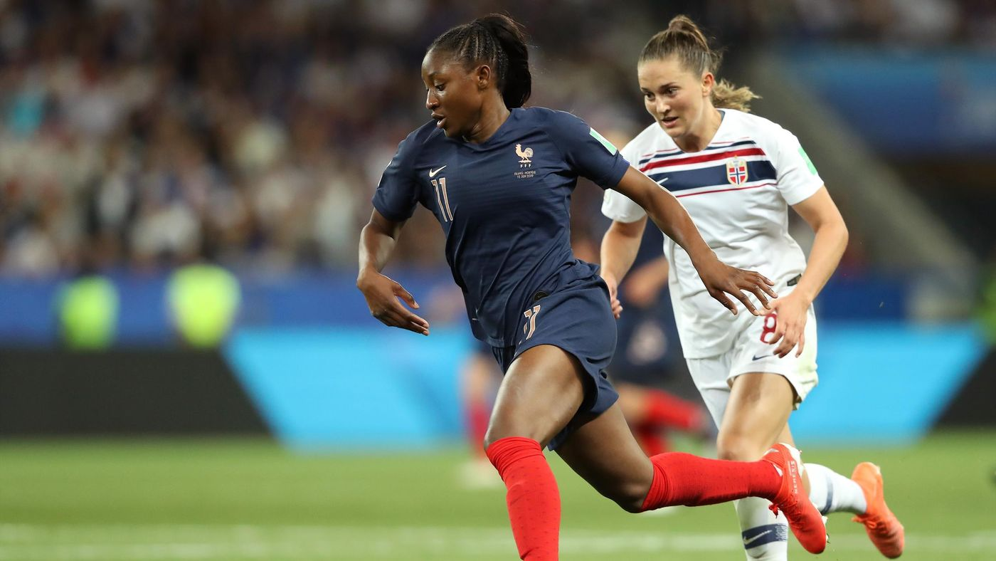 Kadidiatou Diani was the stand-out performer for France