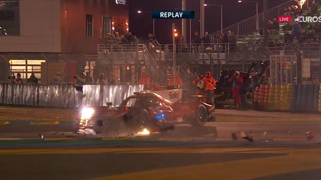 24 Horas de Le Mans 2019: El tremendo accidente de Conway, el otro Toyota que aspira al título