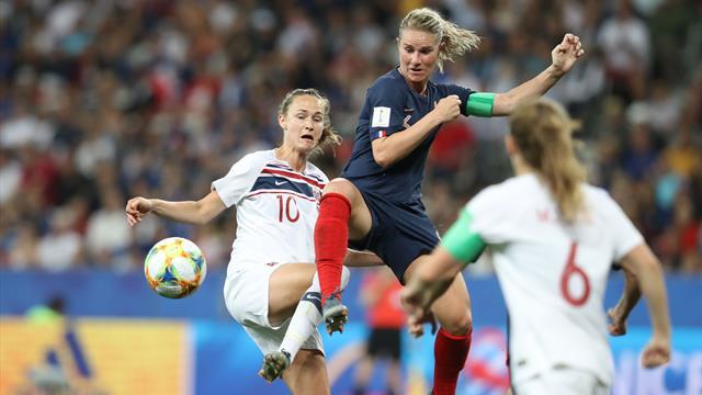 Kadınlar Dünya Kupası raporu: Yedinci gün
