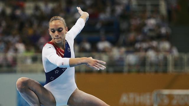 Американскую гимнастку выгнали из федерации за публикацию мема, высмеивающего жертв насилия