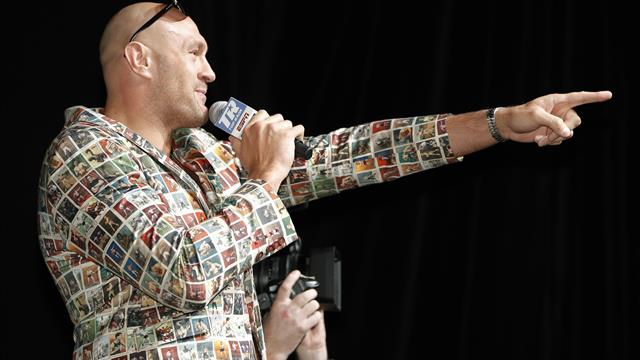 Tyson Fury in good spirits as build up to Tom Schwarz fight continues