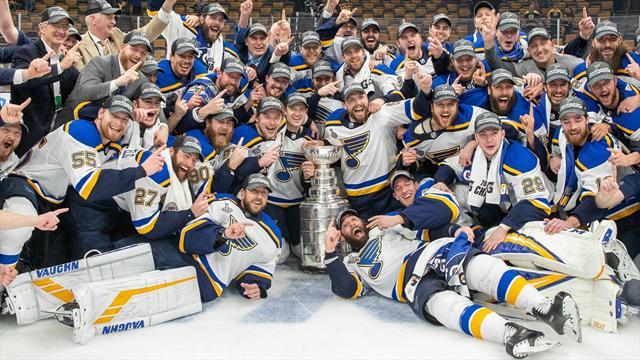 Saint-Louis remporte sa première Coupe Stanley