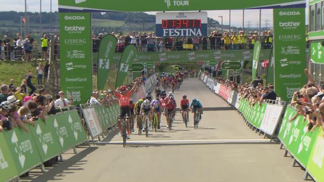 Tour of Britain | Vos wint sprint en pakt eerste plaats algemeen klassement