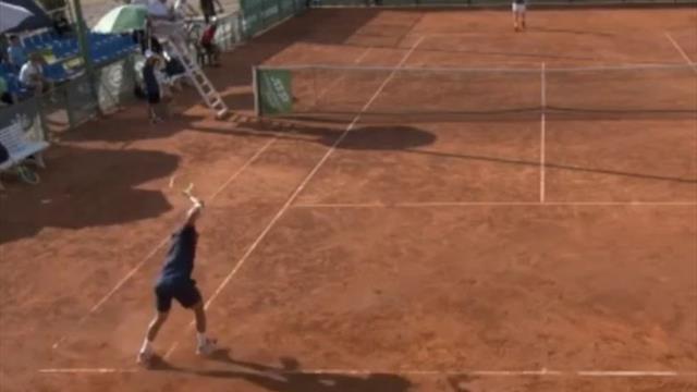 Kleinholz deluxe: Tennis-Profi rastet komplett aus
