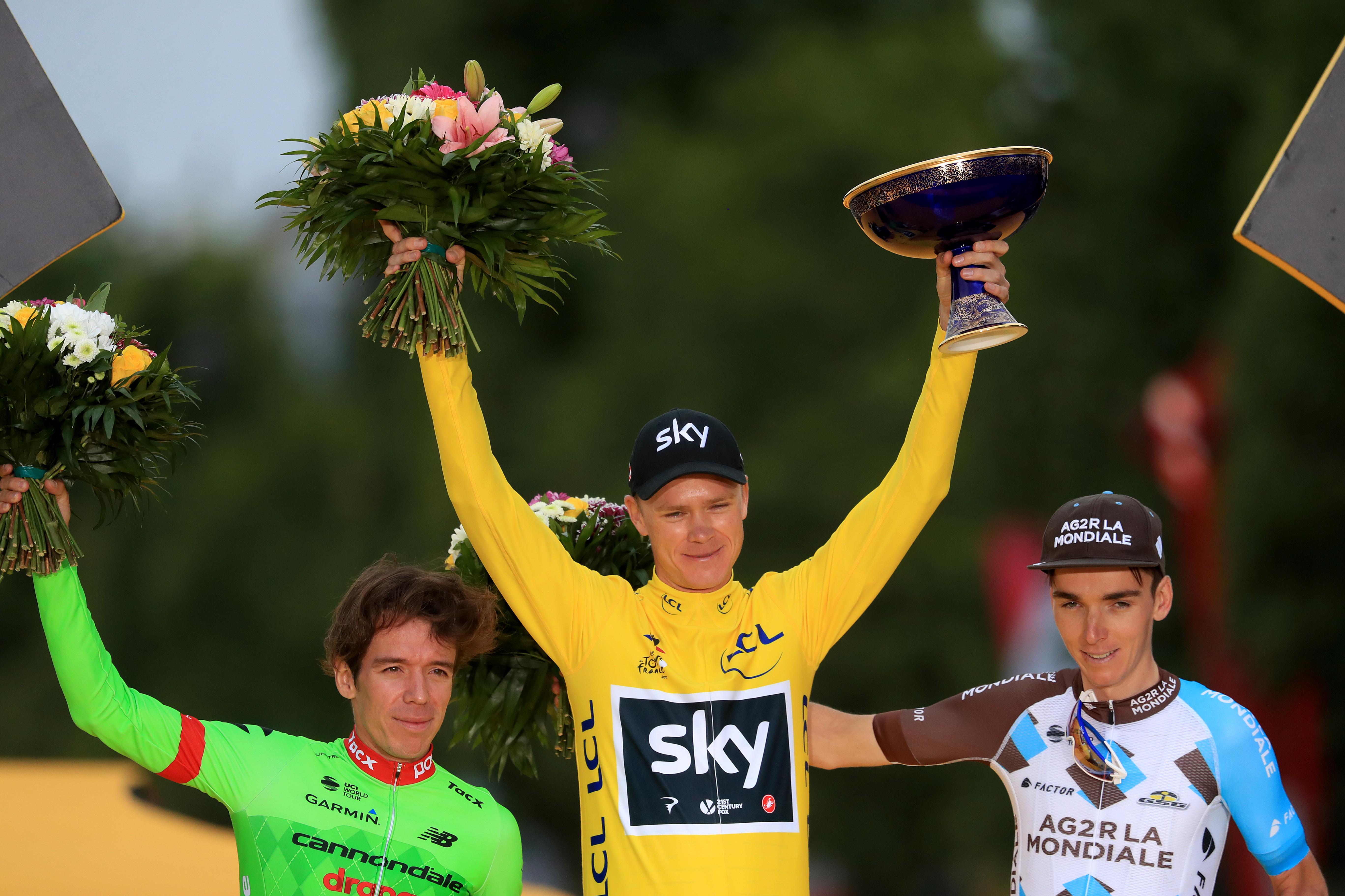 Chris Froome (2017 Tour de France)