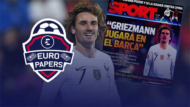 Euro Papers: Griezmann move to Barcelona 'agreed' in further humiliation for United