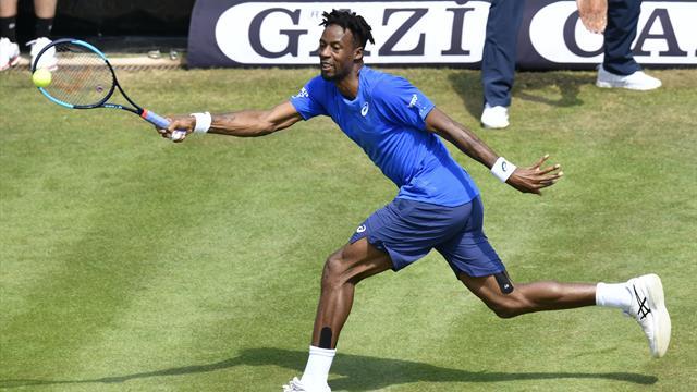 Monfils abandonne, Moutet renverse Dimitrov — Wimbledon
