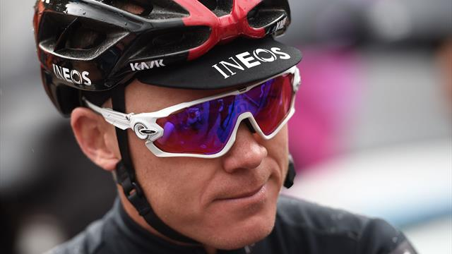Froome back on a bike five weeks after horror crash, Brailsford confirms