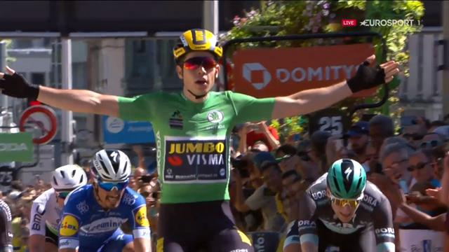 Critérium du Dauphiné   Van Aert blijft verbazen en pakt tweede etappe op rij