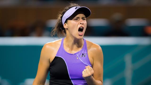 Maria erreicht Viertelfinale in Nottingham