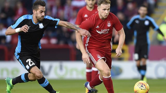 Greg Stewart completes move to Rangers