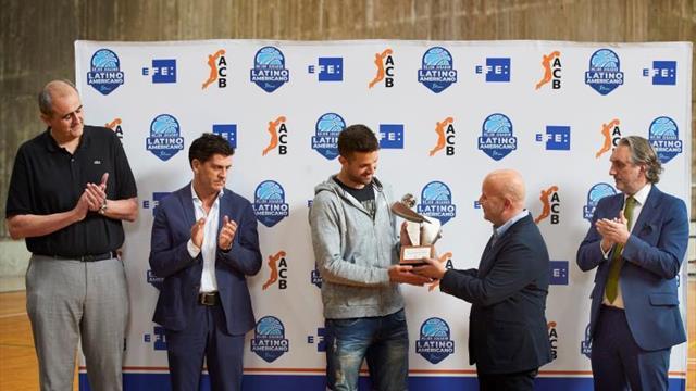 Laprovittola recibe el primer Premio EFE al mejor latinoamericano de la ACB