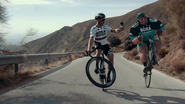 Ion Göttlich y su lucha por llegar al Tour de Francia con el Bora ¿superará la dura montaña?