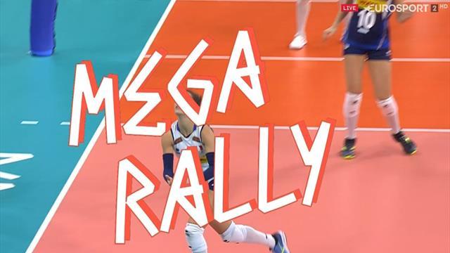 Mega rally delle azzurre: Pietrini irresistibile per le russe